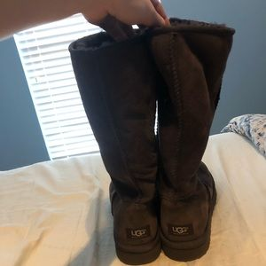 UGG Shoes - tall chocolate brown uggs
